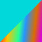 türkis/multicolor
